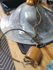 Pendellampe Deckenlampe Murano Glas großer