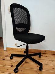 Bürostuhl schwarz IKEA