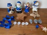Weihnachtsfiguren Deko Krippe Figuren Festtage