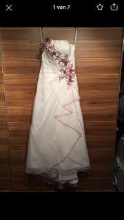Hochzeitskleid Gr 42 Onesholder passend