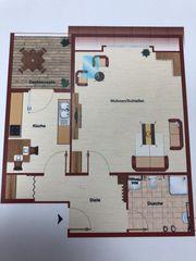 Komplett renovierte Wohnung zu vermieten