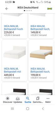Bett Ikea Malm 140x200