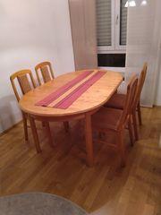Reserviert Esstisch mit 6 Stühle