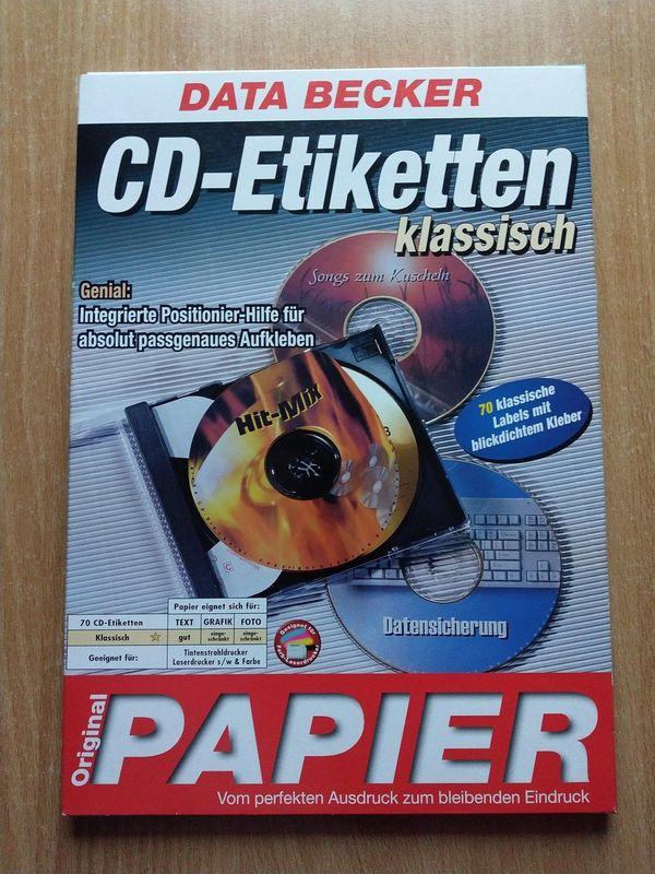 DATA BECKER CD-Etiketten klassisch 67