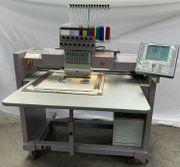 Stickmaschine ZSK Industriestickmaschine Textilveredelung besticken