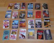 24 verschiedene Konsalik Taschenbücher