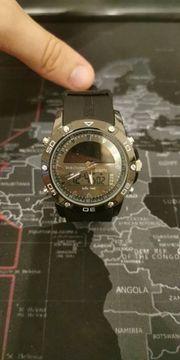 Twin Solar-Analog-Digital Uhr