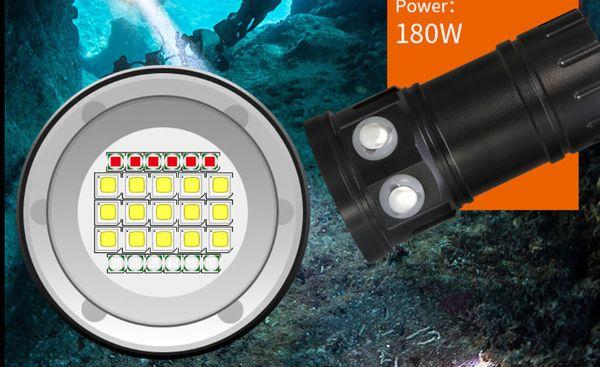 Taucher-Taschenlampe Dicke Berta Ultra mit