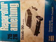 Saab 99 Reparaturanleitung