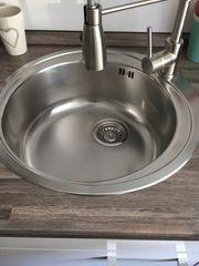 Küchenspüle Edelstahl rund - Firma Franke