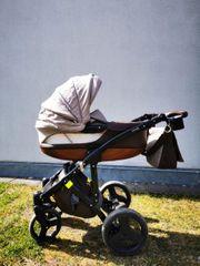 Knorr Baby Kinderwagen viel Zubehör