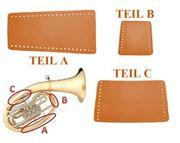 Handgearbeiteter Handschutz für Tenorhorn Bariton