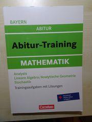 Abiturvorbereitung Mathematik Bayern - Trainingsaufgaben