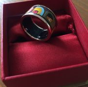 Ausstellungsstück Hundertwasser Damen Ring STREET