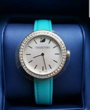 Swarovski Uhr Neu Original blau