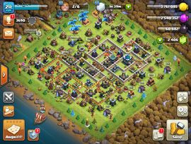 Clash of Clans coc rh 13