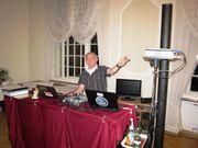 Weihnachtsmarkt-Seifenblasenkünstler DJ Kindergeburtstag Magic Clown