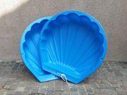 Sandkasten- Wassermuschel blau