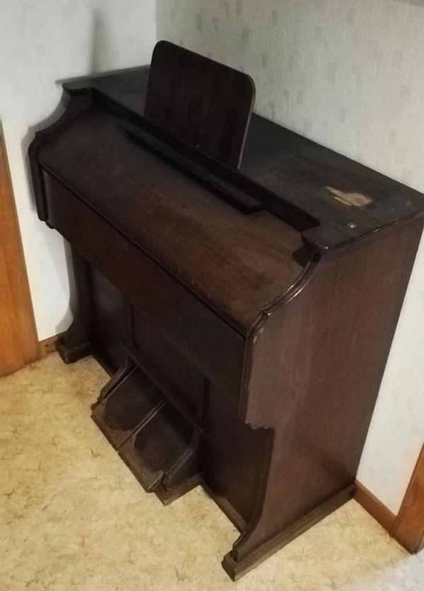 Mannborg Harmonium Holz Klavier Piano