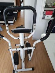 Hometrainer Crosstrainer und Ergometer kombiniert