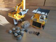 Playmobil Bagger und Kipplaster