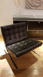Knoll International original Barcelona Sessel