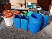 PVC Fässer in einigen Größen