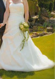 Brautkleid Creme von Lilly Gr