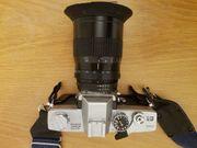Minolta SR-T 101 mit Tele-Objektiv