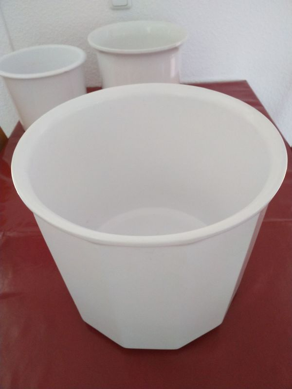 Blumentöpfe Terracotta Keramik Porzellan 9 Stück In Nauheim