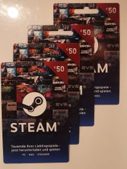 Steam Gift-Cards je 40eur 1