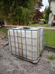 Regenwasser Tank