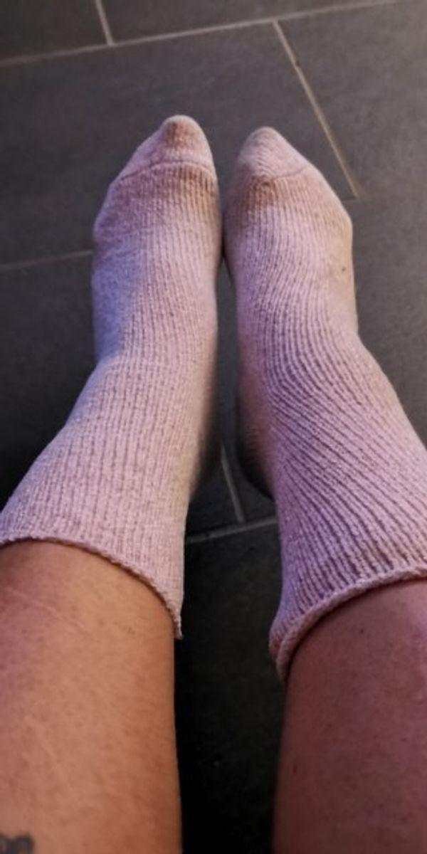 Kuschel Socken getragen