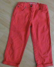 Jeans rot mit Umschlag Gr