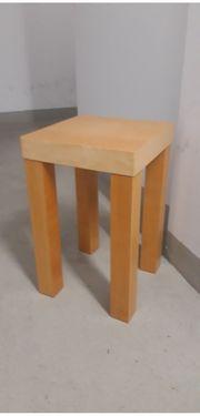 Ikea Hocker Blumenhocker Birkefurnier Lack