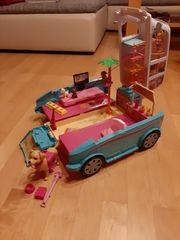 Barbieauto Die große Hundesuche Mobil