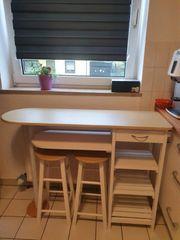 Tisch mit 2 Hocker