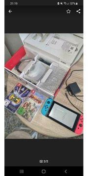 Nintendo Switch Rot Blau mit