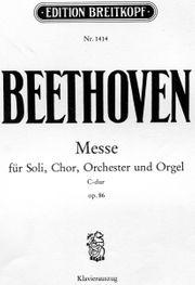Beethoven Messe Edition Breitkopf Nr