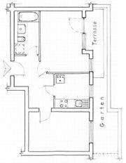 Bequeme 2-Zi-Wohnung in KA-City-Park