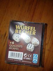 Würfel Becher
