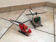Polizei- und Feuerwehrhubschrauber Playmobil