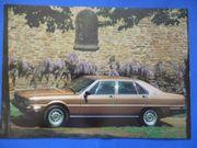 Original Autoprospekte und Kataloge von