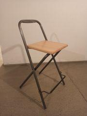 Klappstuhl Sitzhöhe 63 cm Buche