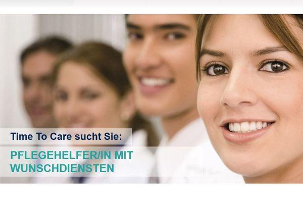 Pflegehelfer in mit Wunschdiensten 12
