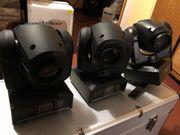 3x Movingheads Mini Movingheads Movinghead