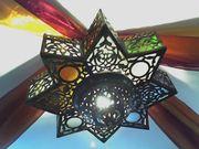 3 orientalische Lampen Handarbeit aus