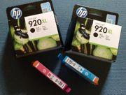 2 x HP Druckerpatronen 920