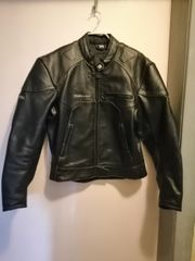 Motorradlederjacke Größe 42 100 echt