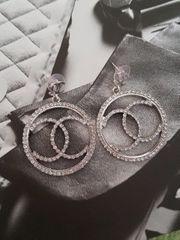Modeschmuck Ohrringe Chanel Vip Edelstahl